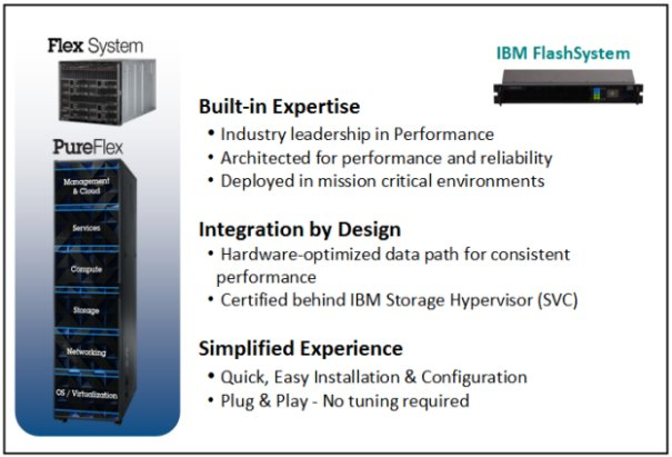 PureSystems and FlashSystem synergies