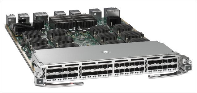 Cisco MDS 9700 Series 48-Port 10-Gbps FCoE Switching Module