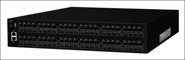 Figure 1. IBM System Networking SAN96B-5 switch