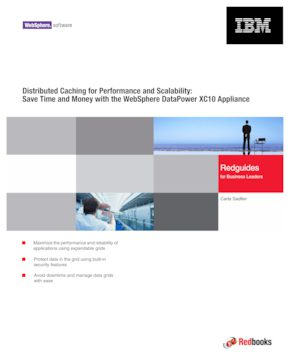 Distributed Caching for Performance and Scalability: Save Time and