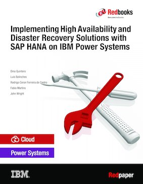 Implementing High Availability and Disaster Recovery Solutions with