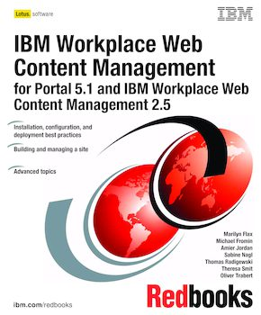 Ibm workplace web content management for portal 5. 1 and ibm.
